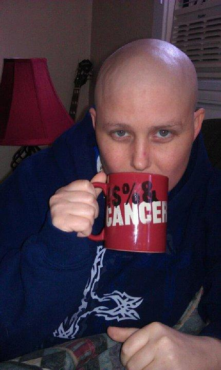 Robyn during chemotherapy