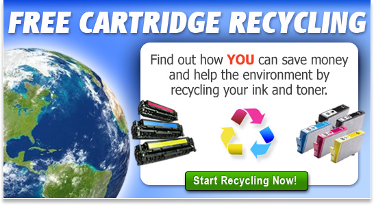 Ink Technologies offers a free toner and ink recycling program.