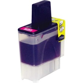 LC41M Ink Cartridge - Brother New Compatible  (Magenta)