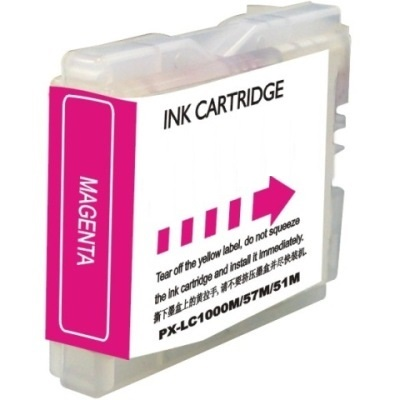 LC51M Ink Cartridge - Brother New Compatible  (Magenta)
