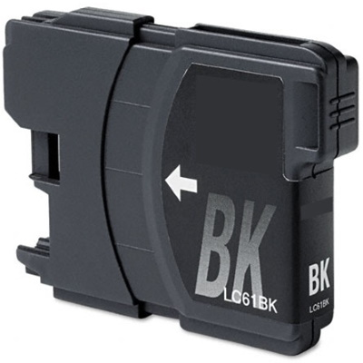 LC61BK Ink Cartridge - Brother New Compatible  (Black)