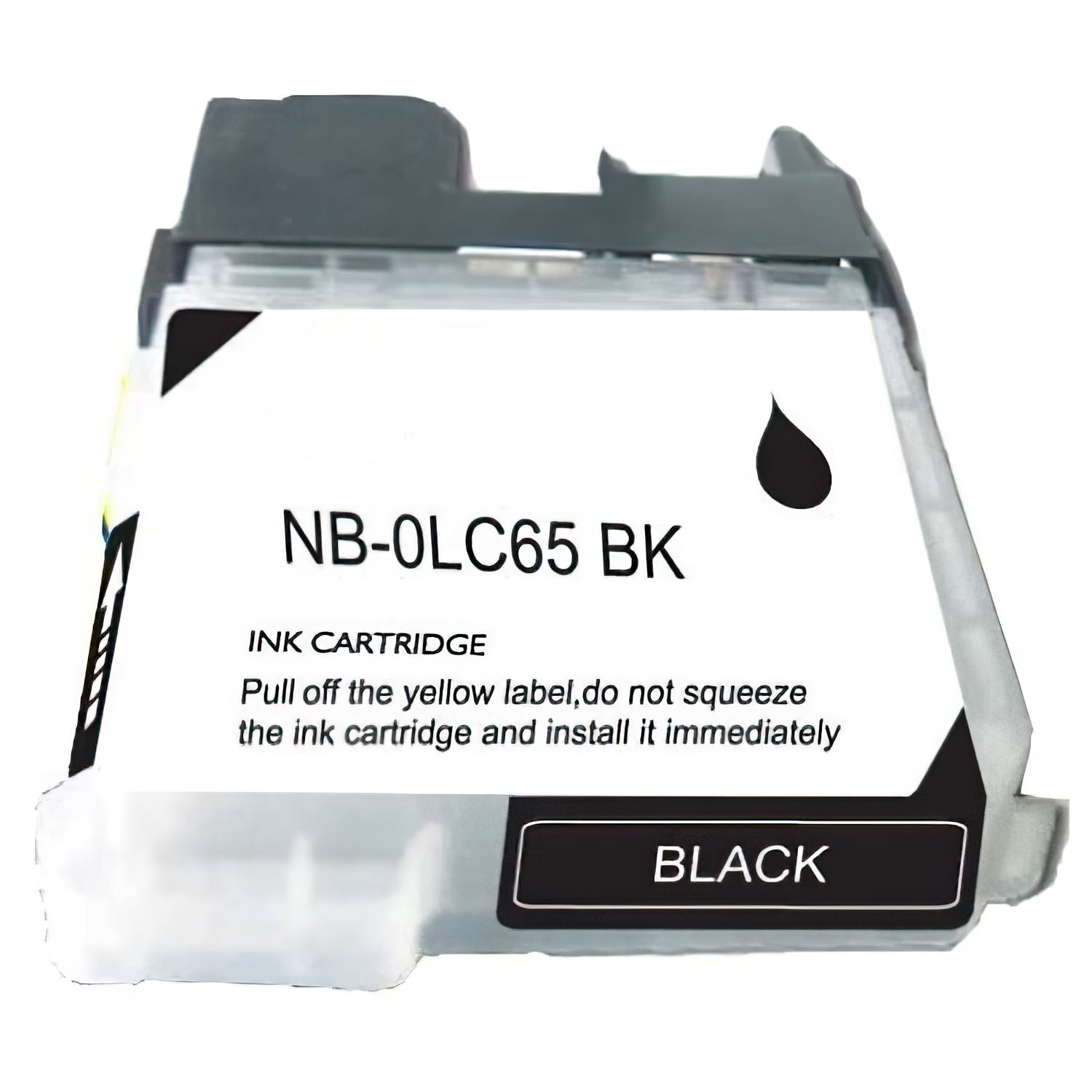 LC65BK Ink Cartridge - Brother New Compatible  (Black)