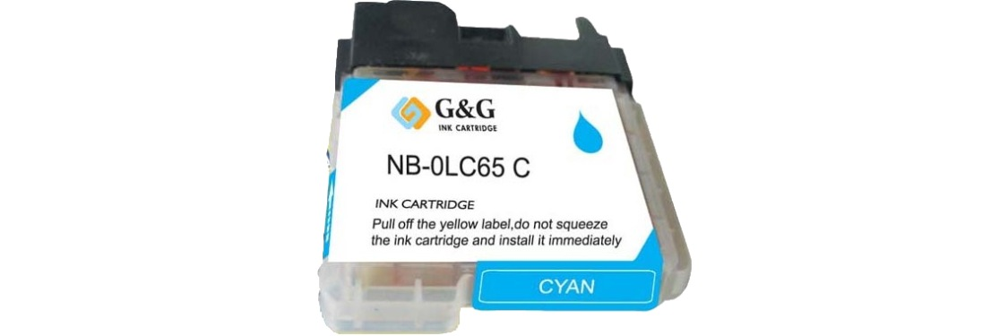 LC65C Ink Cartridge - Brother New Compatible  (Cyan)