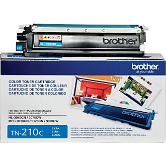 TN210C Toner Cartridge - Brother Genuine OEM  (Cyan)