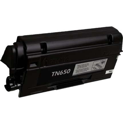TN650 Toner Cartridge - Brother New Compatible  (Black)