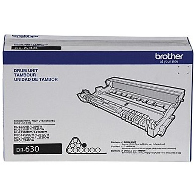 DR630 Drum Unit - Brother Genuine OEM (Black)