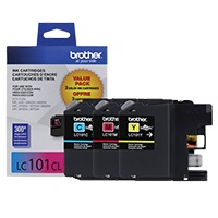 LC1013PKS Ink Cartridge - Brother Genuine OEM (Bundle Pack)