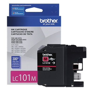 LC101M Ink Cartridge - Brother Genuine OEM (Magenta)