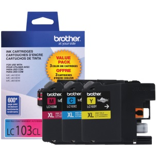 LC1033PKS Ink Cartridge - Brother Genuine OEM (Bundle Pack)
