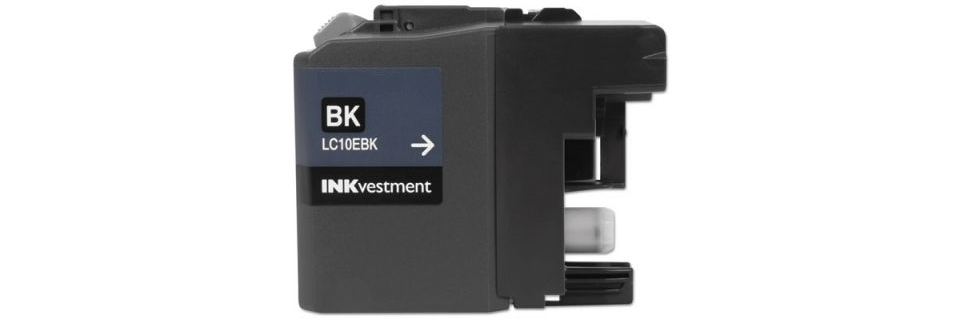 LC10EBK Ink Cartridge - Brother Compatible (Black)