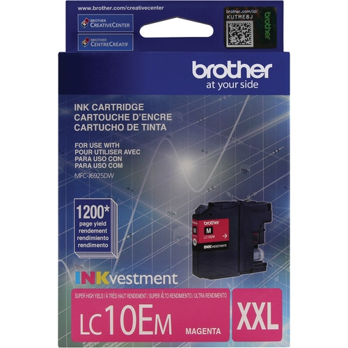 LC10EM Ink Cartridge - Brother Genuine OEM (Magenta)