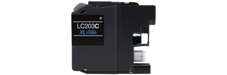 LC203C Ink Cartridge - Brother Compatible (Cyan)