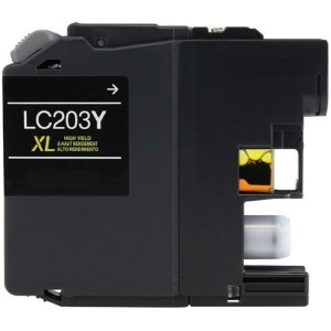 LC203Y Ink Cartridge - Brother Compatible (Yellow)