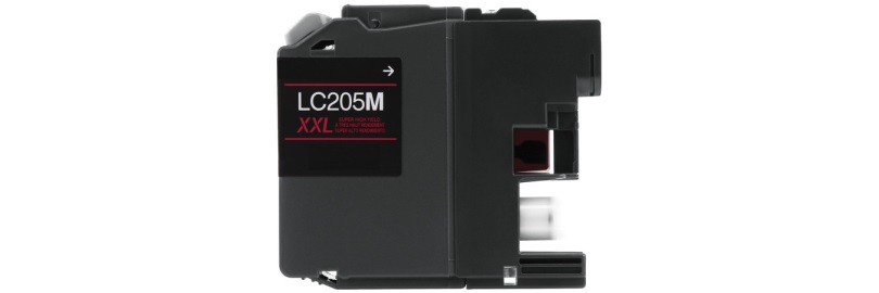 LC205M Ink Cartridge - Brother Compatible (Magenta)