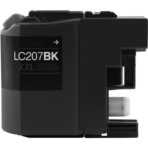 LC207BK Ink Cartridge - Brother Compatible (Black)