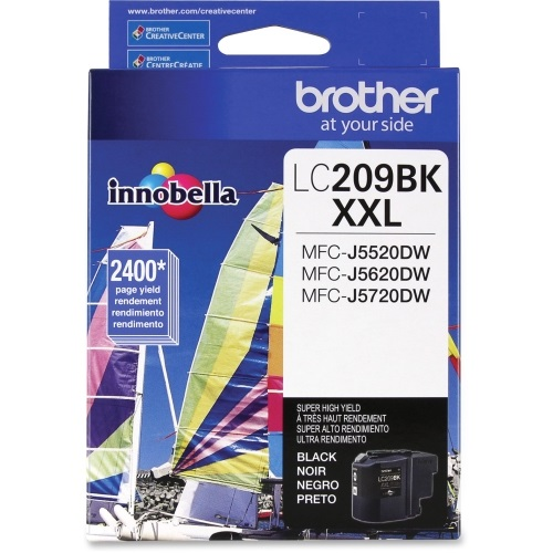 LC209BK Ink Cartridge - Brother Genuine OEM (Black)