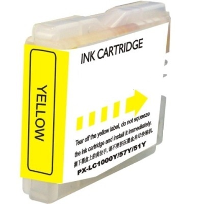 LC51Y Ink Cartridge - Brother Compatible (Yellow)