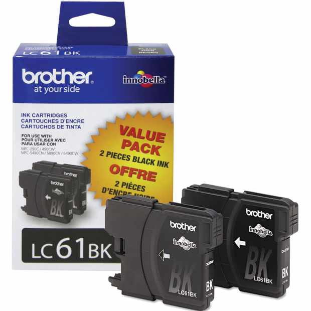 LC612PKS Ink Cartridge - Brother Genuine OEM (Multipack)