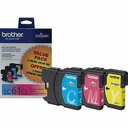 LC613PKS Ink Cartridge - Brother Genuine OEM (Bundle Pack)