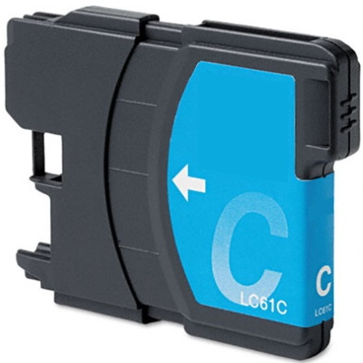 LC61C Ink Cartridge - Brother Compatible (Cyan)
