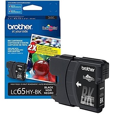 LC65BK Ink Cartridge - Brother Genuine OEM (Black)