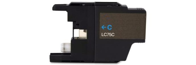 LC75C Ink Cartridge - Brother Compatible (Cyan)