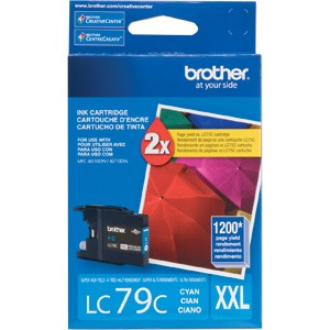 LC79C Ink Cartridge - Brother Genuine OEM (Cyan)