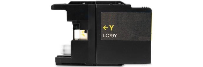 LC79Y Ink Cartridge - Brother Compatible (Yellow)