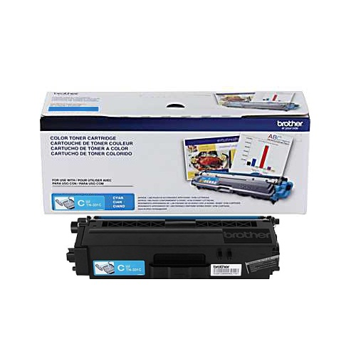 TN331C Toner Cartridge - Brother Genuine OEM (Cyan)