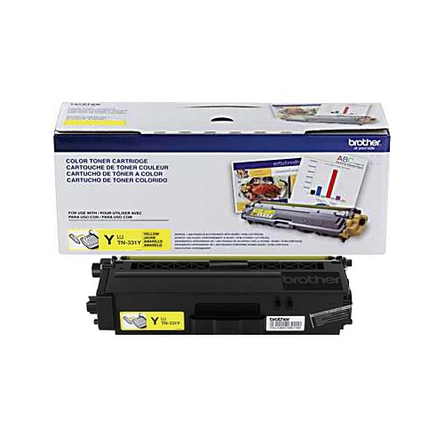 TN331Y Toner Cartridge - Brother Genuine OEM (Yellow)