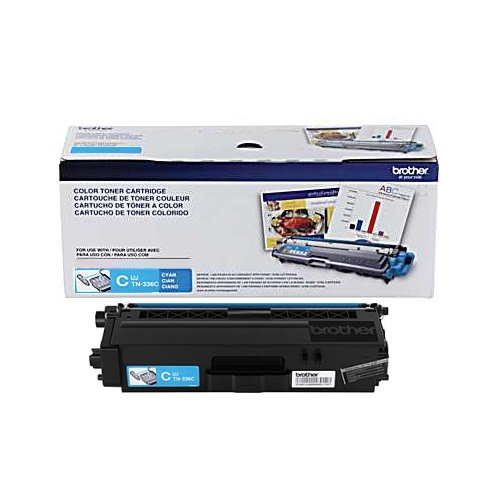 TN336C Toner Cartridge - Brother Genuine OEM (Cyan)