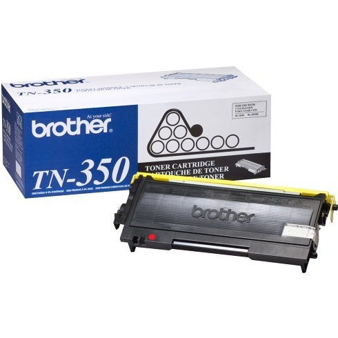 TN350 Toner Cartridge - Brother Genuine OEM (Black)