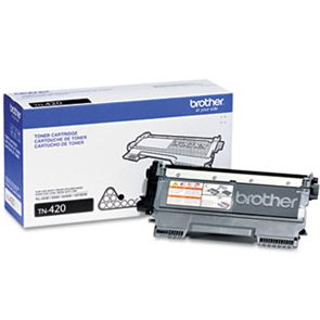 TN420 Toner Cartridge - Brother Genuine OEM (Black)