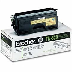 TN530 Toner Cartridge - Brother Genuine OEM (Black)