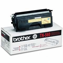 TN560 Toner Cartridge - Brother Genuine OEM (Black)