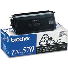 TN570 Toner Cartridge - Brother Genuine OEM (Black)