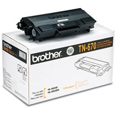 TN670 Toner Cartridge - Brother Genuine OEM (Black)
