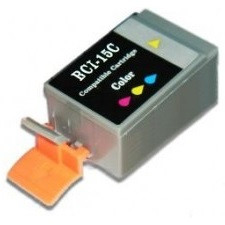 BCI-15C Ink Cartridge - Canon New Compatible  (Color)