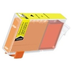 BCI-3eY Ink Cartridge - Canon Remanufactured  (Yellow)