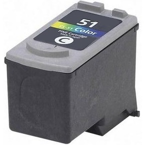 CL-51 Ink Cartridge - Canon Remanufactured  (Color)