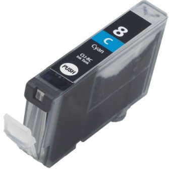 CLI-8C Ink Cartridge - Canon New Compatible  (Cyan)