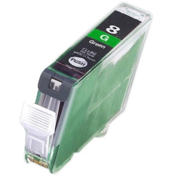 CLI-8G Ink Cartridge - Canon New Compatible  (Green)