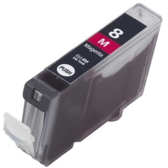 CLI-8M Ink Cartridge - Canon New Compatible  (Magenta)