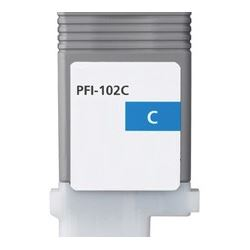 PFI-102C Ink Cartridge - Canon New Compatible  (Cyan)