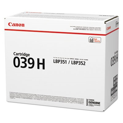 0288C001AA Toner Cartridge - Canon Genuine OEM (Black)