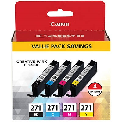 0390C005 Ink Cartridge - Canon Genuine OEM (Bundle Pack)