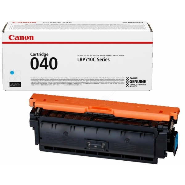 0458C001 Toner Cartridge - Canon Genuine OEM (Cyan)