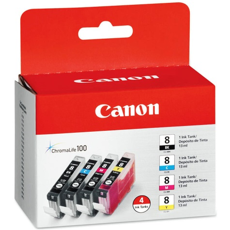 0620B010 Ink Cartridge - Canon Genuine OEM (Bundle Pack)