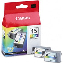 BCI-15C Ink Cartridge - Canon Genuine OEM (Color)