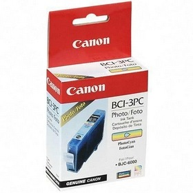 BCI-3ePC Ink Cartridge - Canon Genuine OEM (Photo Cyan)